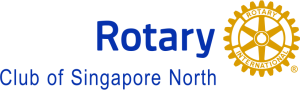 Singapore North New Rotary logo