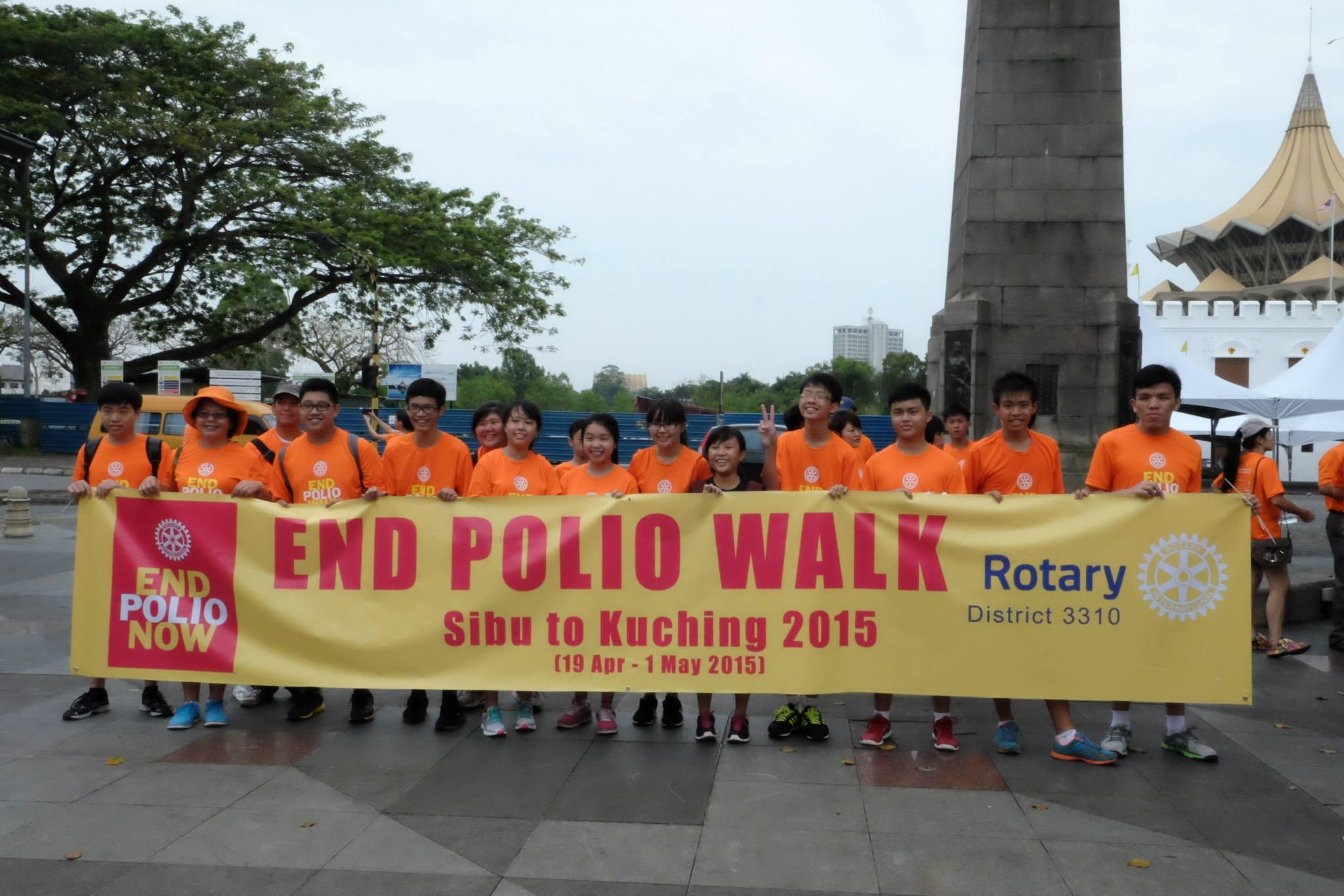 End Polio Walk