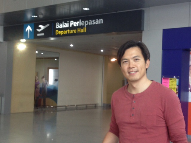 Departure Hall At Senai Airport